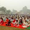yoga camp by param mitra manav nirman sansthan in haryana