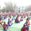yoga camp by param mitra manav nirman sansthan in haryana